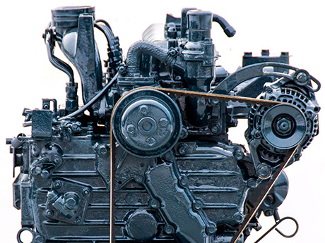 Japanese Compact Tractor Engines