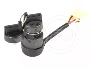 Ignition switch, 5 pins, for automatic glow, for Japanese compact tractors (1)