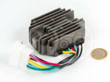 Voltage regulator with 6-cable connector for Kubota and Yanmar Japanese compact tractors, SPECIAL OFFER!