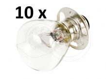 Light bulb, 3 holes, 35/35W, 194550-55810, for Japanese compact tractors, set of 10 pieces, SPECIAL OFFER!